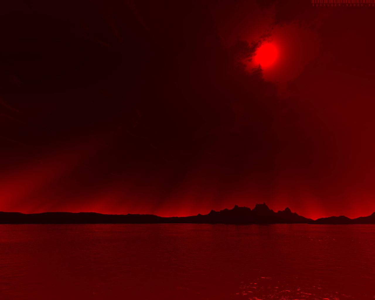 red landscape wallpapers for desktop - photo #16